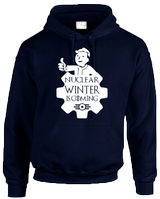 NUCLEAR WINTER HOODIE - INSPIRED BY FALLOUT VAULT TEC GAME OF THRONES